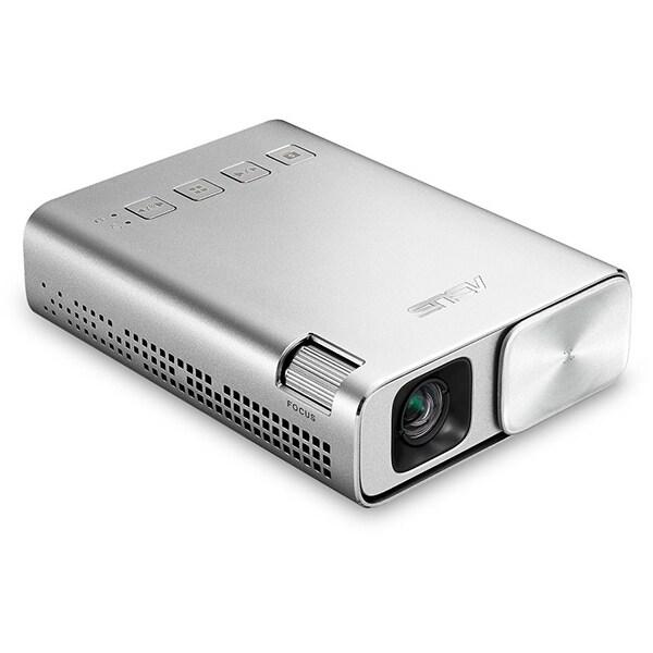 Videoproiector portabil ASUS ZENBEAM E1, FWGVA, argintiu