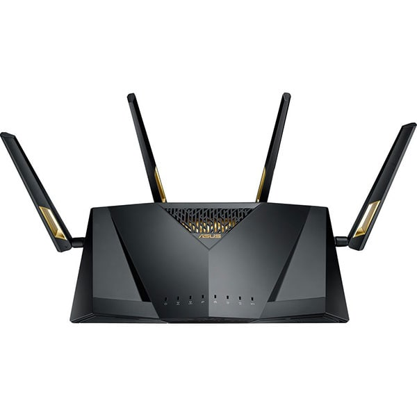 Router Wireless Gigabit ASUS RT-AX88U, Dual-Band 1148 + 4804 Mbps, USB 3.0, negru
