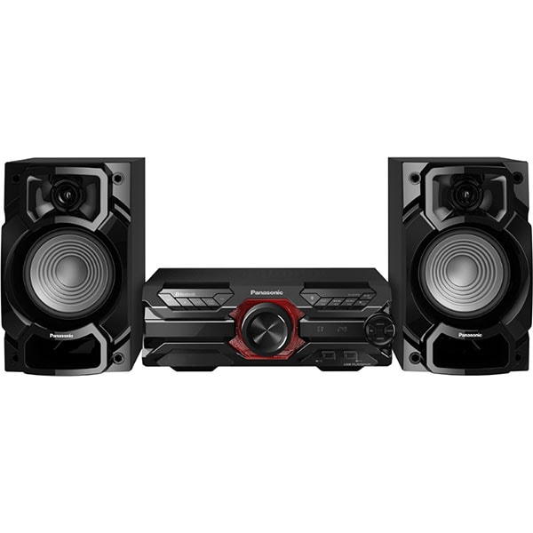 Minisistem audio PANASONIC SC-AKX320E-K, 450W, Bluetooth, USB, CD, Radio FM, negru