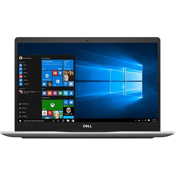"Laptop DELL Inspiron 7570, Intel Core i5-8250U pana la 3.4GHz, 15.6"" Full HD, 8GB, SSD 256GB, NVIDIA GeForce 940MX 4GB, Windows 10 Pro"