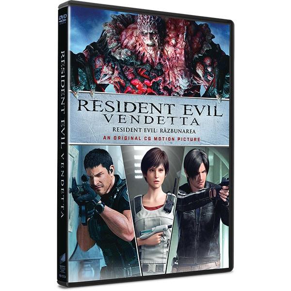 Resident Evil: Razbunarea DVD