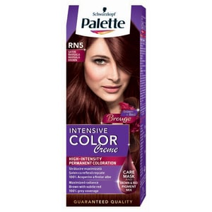 Vopsea de par PALETTE Intensive Color Creme, RN5 Saten Marsala, 110ml