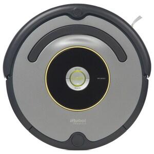 Aspirator robot IROBOT Roomba 616, Wall Follow, Program SPOT, gri-negru