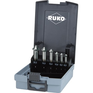 Set zencuitoare HSS-CO5 RUKO 102790ERO, 6.3-20.5mm, 6 piese