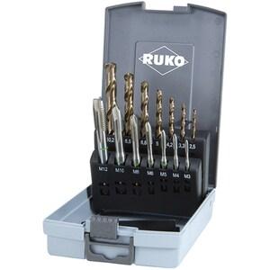 Set tarozi HSS-Co5 M3-M12 RUKO 245051RO, 14 piese