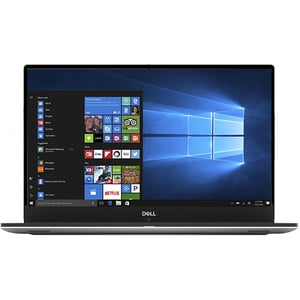 "Laptop DELL XPS 9570, Intel Core i7-8750H pana la 4.1GHz, 15.6"" Full HD IPS, 8GB, HDD 1TB + SSD 128GB, NVIDIA GeForce GTX 1050 Ti 4GB, Windows 10 Pro, Silver"