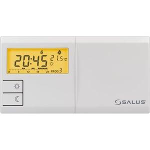 Termostat prgramabil cu fir pentru centrala SALUS 091FL, alb