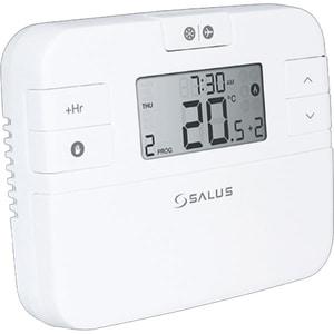 Termostat programabil cu fir pentru centrala SALUS RT510, alb