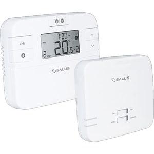 Termostat programabil wireless pentru centrala SALUS RT510RF, alb
