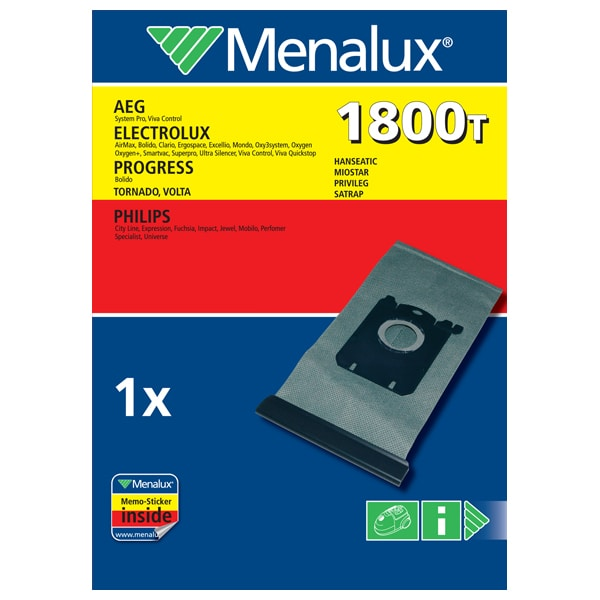 Sac aspirator MENALUX 1800T, 1 buc