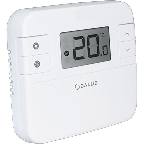 Termostat neprgramabil cu fir pentru centrala SALUS RT310, alb