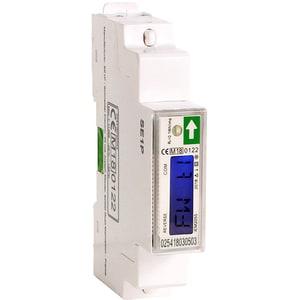 Contor monofazat SCHNEIDER A9MEM2055, 45A, 230V, IP51, alb