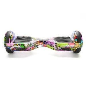 Hoverboard FREEWHEEL Junior, 6,5 inch, graffiti mov