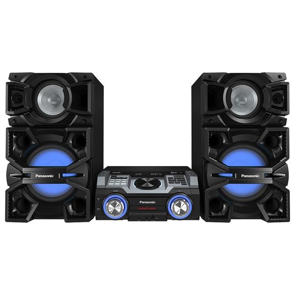 Sistem audio PANASONIC SC-MAX4000EK, 2400W, Bluetooth, USB, CD, Iluminare LED, negru