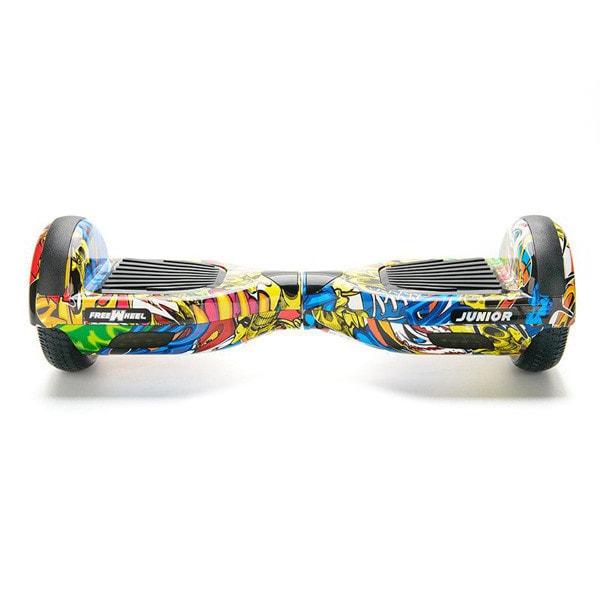 Hoverboard FREEWHEEL Junior, 6,5 inch, graffiti galben