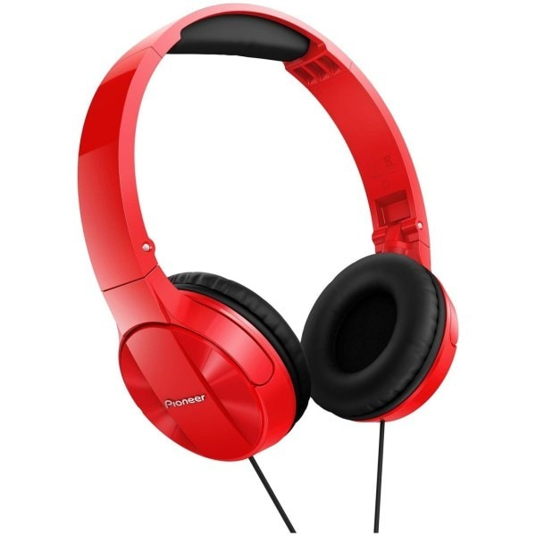 Casti PIONEER SE-MJ503-R, Cu Fir, On-Ear, rosu