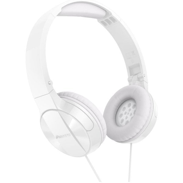 Casti PIONEER SE-MJ503-W, Cu Fir, On-Ear, alb