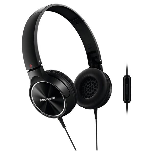 Casti PIONEER SE-MJ522T-K, negru