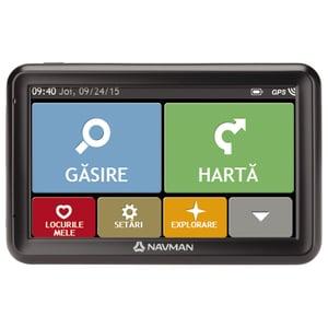"Sistem de navigatie GPS NAVMAN 5000 LM, 5"" Touch, Full Europa"