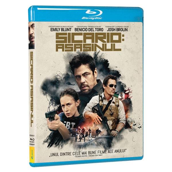 Sicario - Asasinul Blu-ray
