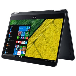 "Laptop 2 in 1 ACER Spin SP714-51-M8MS, Intel® Core™ i7-7Y75 pana la 3.6GHz, 14"" IPS Full HD, 8GB, SSD 512GB, Intel® HD Graphics 615, Windows 10 Home"