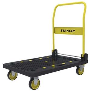 Carucior tip platforma STANLEY SXWTC-PC509, 4 roti, aluminiu
