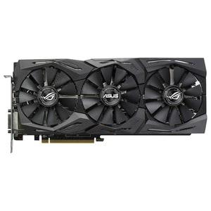 Placa video ASUS AMD Radeon RX 580, 8GB GDDR5, STRIX-RX580-O8G-GAM