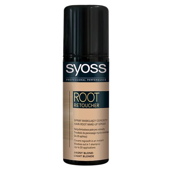 Vopsea de par SYOSS Root Retoucher, Blond Light, 120ml
