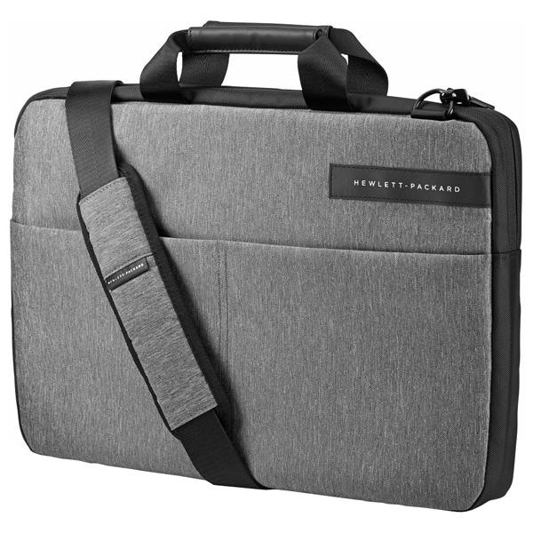 "Geanta laptop HP Signature Slim T0E19AA, 17.3"", gri-negru"