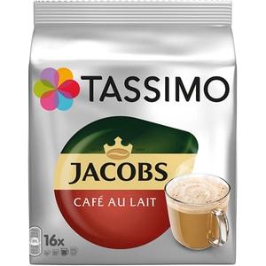 Capsule cafea JACOBS Tassimo Cafe Au Lait, 16 capsule, 184g