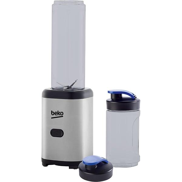 Mini blender BEKO TBP5301X, 0.6l, 300W, 1 treapta viteza, argintiu