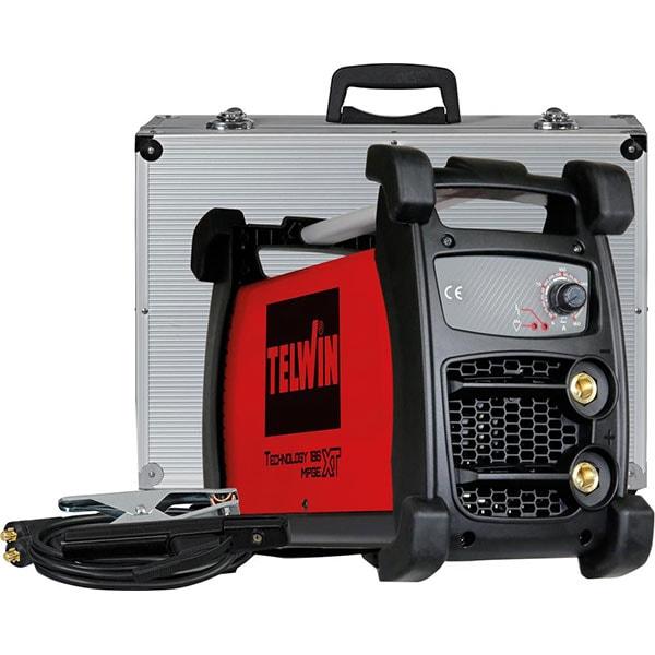 Invertor de sudura TIG-MMA TELWIN 186 MPGE XT CC, 5-160A, 5kW + valiza accesorii