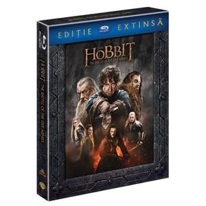 Hobbitul - Batalia celor cinci ostiri - versiune extinsa Blu-ray