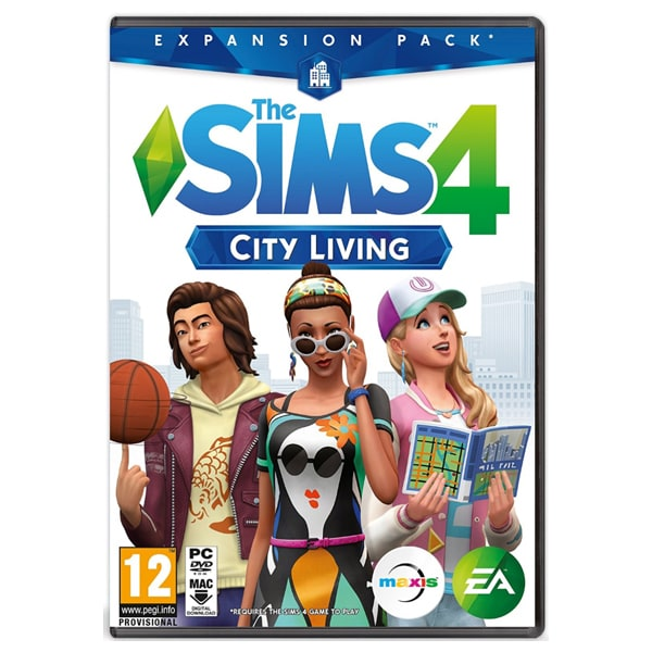 The Sims 4 City Living (Expansion Pack 3 - necesita jocul The Sims 4) PC