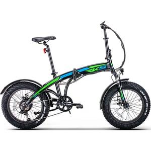 Bicicleta electrica pliabila RKS TNT-15, 20 inch, negru