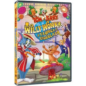 Tom and Jerry: Willy Wonka si fabrica de ciocolata DVD