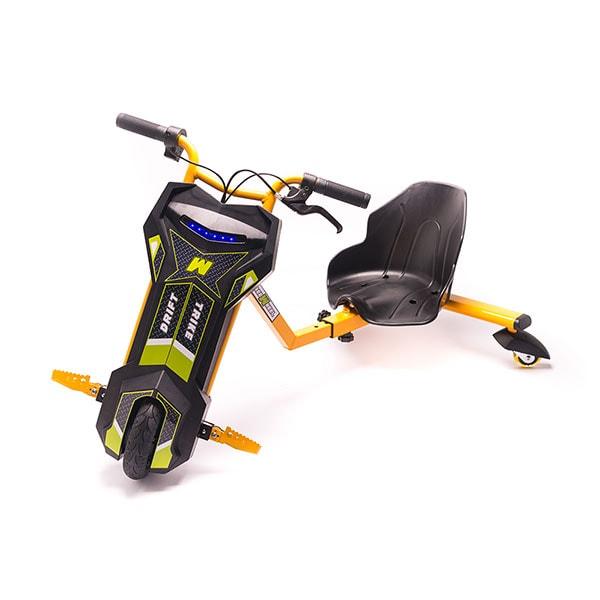Tricicleta electrica FREEWHEEL Drift Trike V2, 8 inch, orange