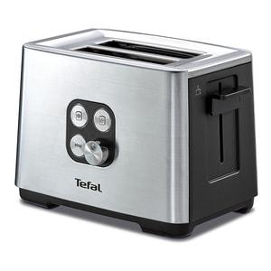 Prajitor paine TEFAL Equinox TT420D30, 2 felii, 900W, argintiu-negru