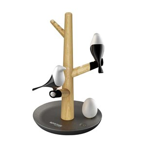 Lampa de birou LED PROMATE HOMETREE-1, Touch, negru-maro