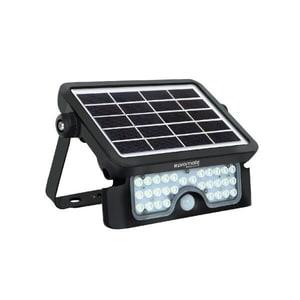 Lampa solara cu senzor de miscare PROMATE BEACON-3, IP65, 5W, 500 lumeni, negru
