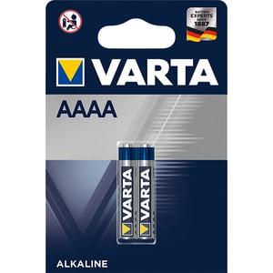Baterii alcaline VARTA AAAA, 640 mAh, 2 bucati