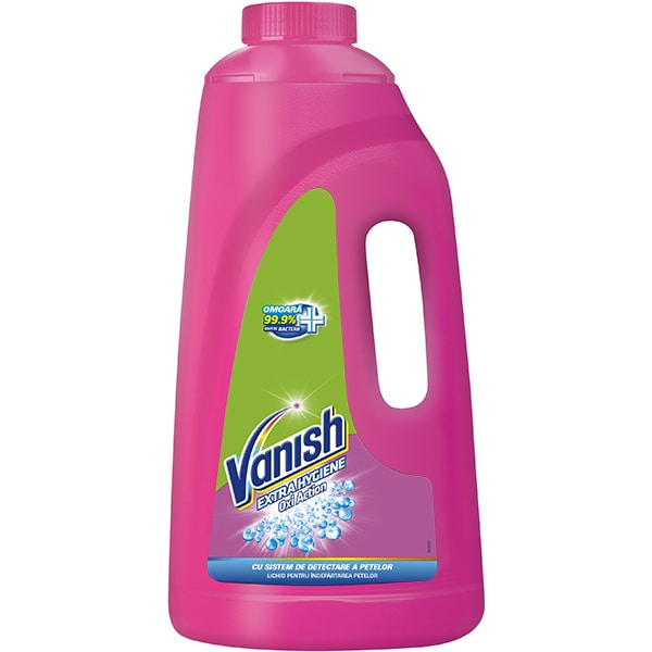 Solutie VANISH Extra Hygiene 1.88L pentru indepartarea petelor