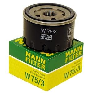 Filtru ulei MANN W75/3, Logan, Clio II, Megane, benzina