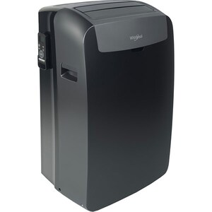 Aer conditionat portabil WHIRLPOOL PACB212HP, 12000 BTU, A/A+, 6th Sense, negru