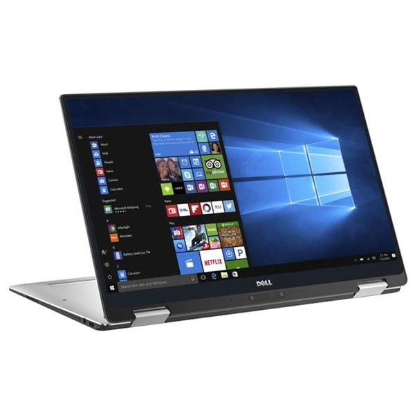 """Laptop 2 in 1 DELL XPS 13 9365, Intel® Core™ i7-7Y75 pana la 3.6GHz, 13.3"""" QHD+ Touch, 8GB, SSD 512GB, Intel® HD Graphics 615, Windows 10 Home"""
