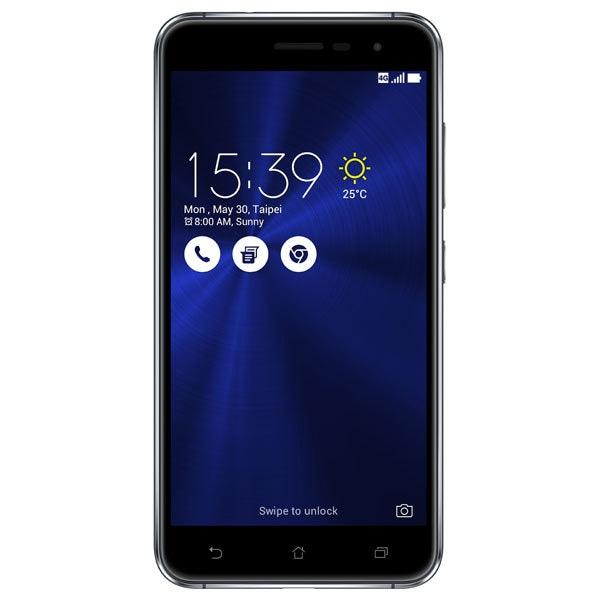 "Telefon Dual Sim ASUS ZenFone 3 ZE520KL, 5.2"", 16MP, 3GB RAM, 32GB, Octa-Core, 4G, Sapphire Black"